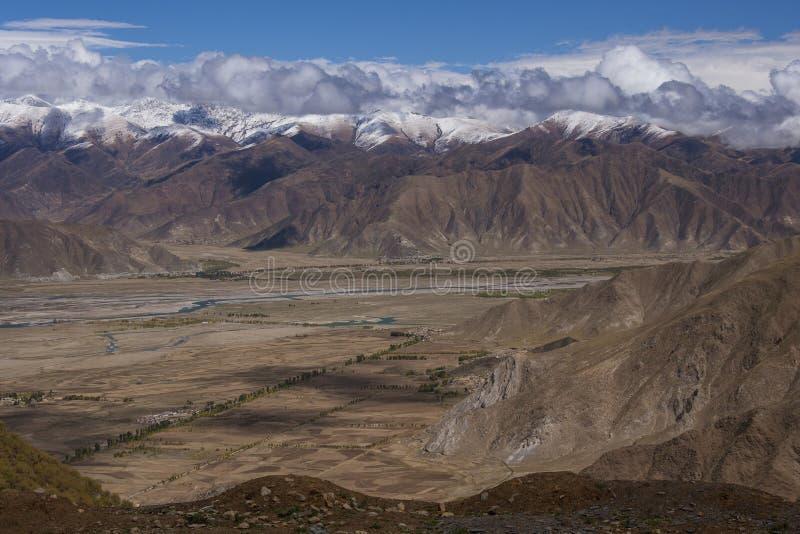 Гималаи - Тибет - Китай стоковые фотографии rf