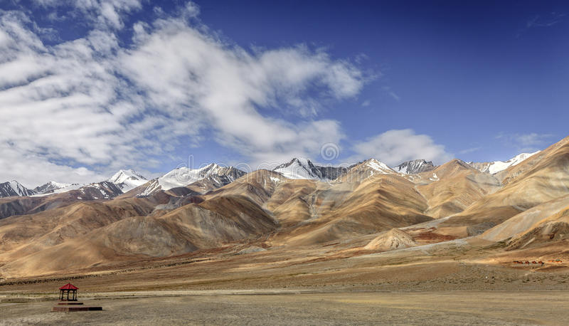 Гималайский ландшафт стоковая фотография rf