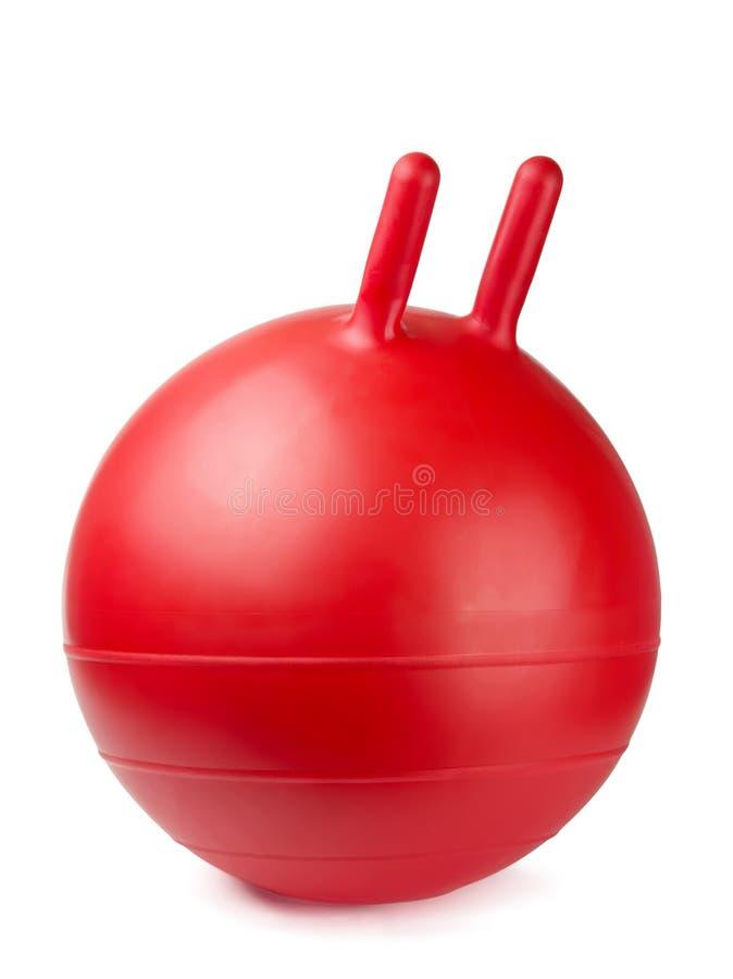гимнастика шарика стоковые изображения rf