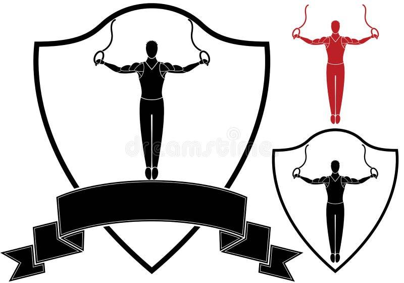 гимнастика иллюстрация вектора