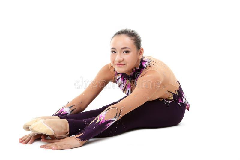 гимнасты молодые стоковое изображение rf