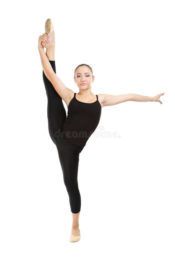 гимнасты молодые стоковая фотография rf