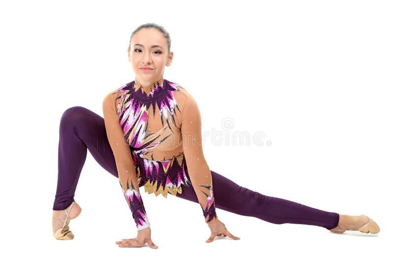 гимнасты молодые стоковые фотографии rf
