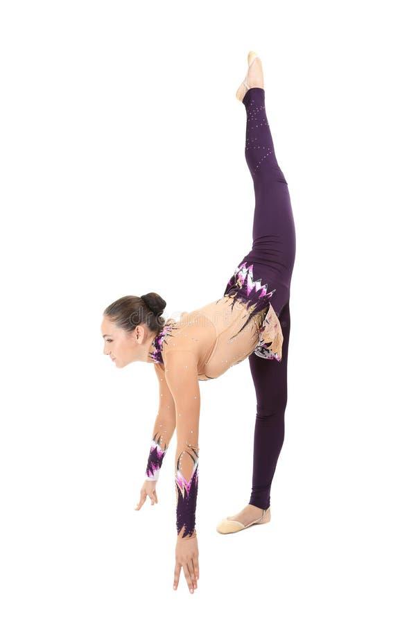 гимнасты молодые стоковое фото rf