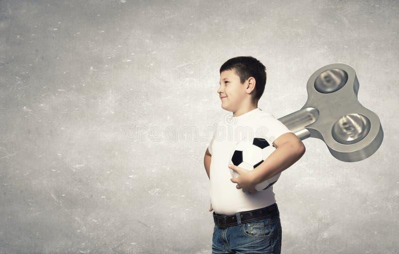 Гиперактивный счастливый ребенок стоковые изображения rf