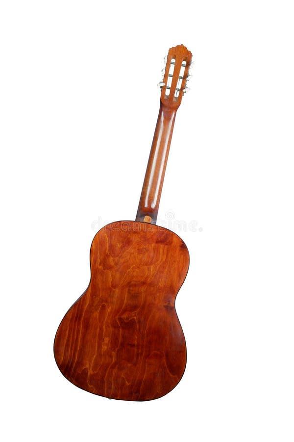 гитара задней стороны стоковые фото