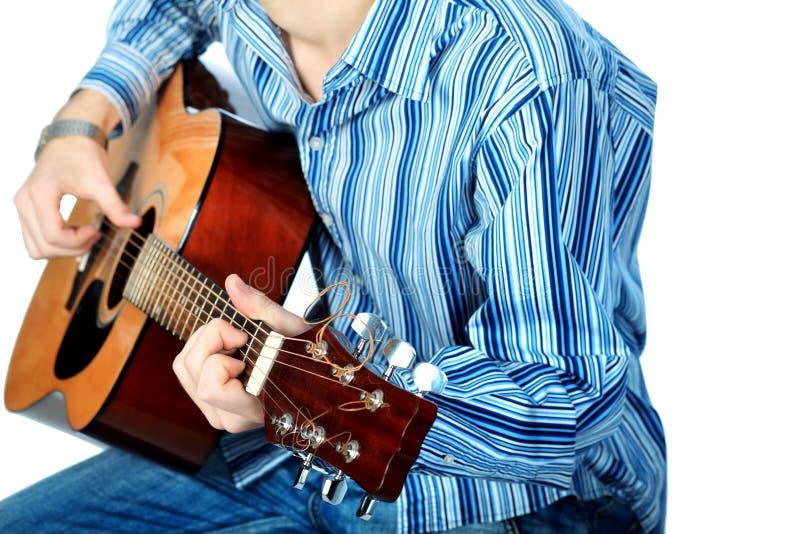 гитара крупного плана стоковое изображение