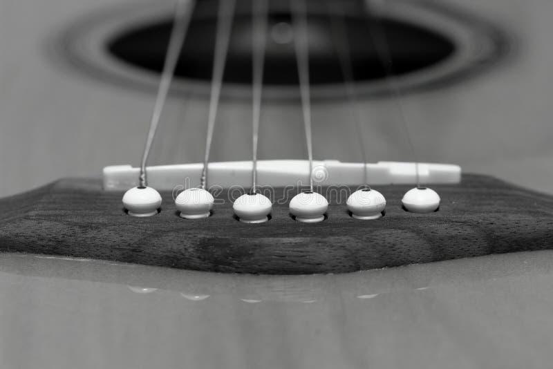 Гитара 6 строк плоская верхняя стоковые изображения rf