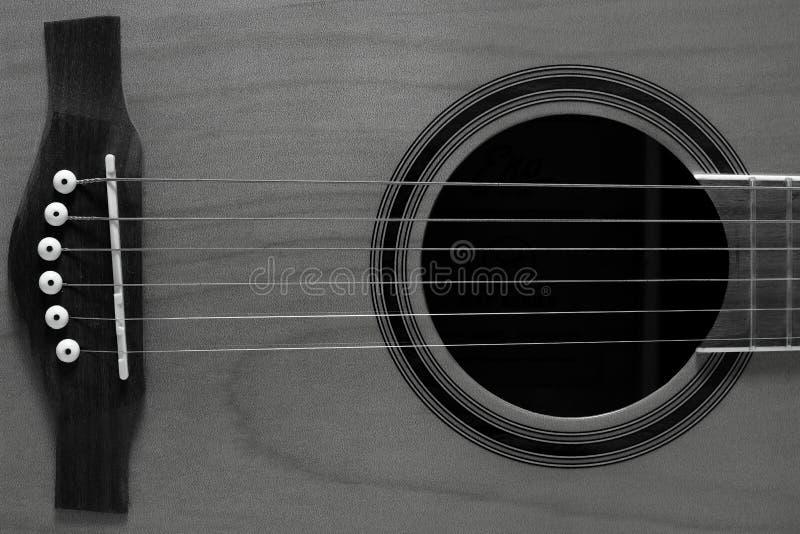 Гитара 6 строк плоская верхняя стоковое изображение rf