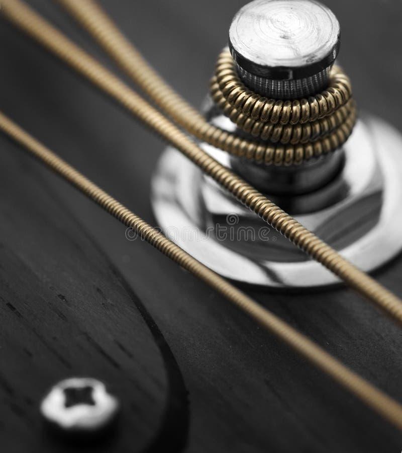 Гитара строк стоковое изображение