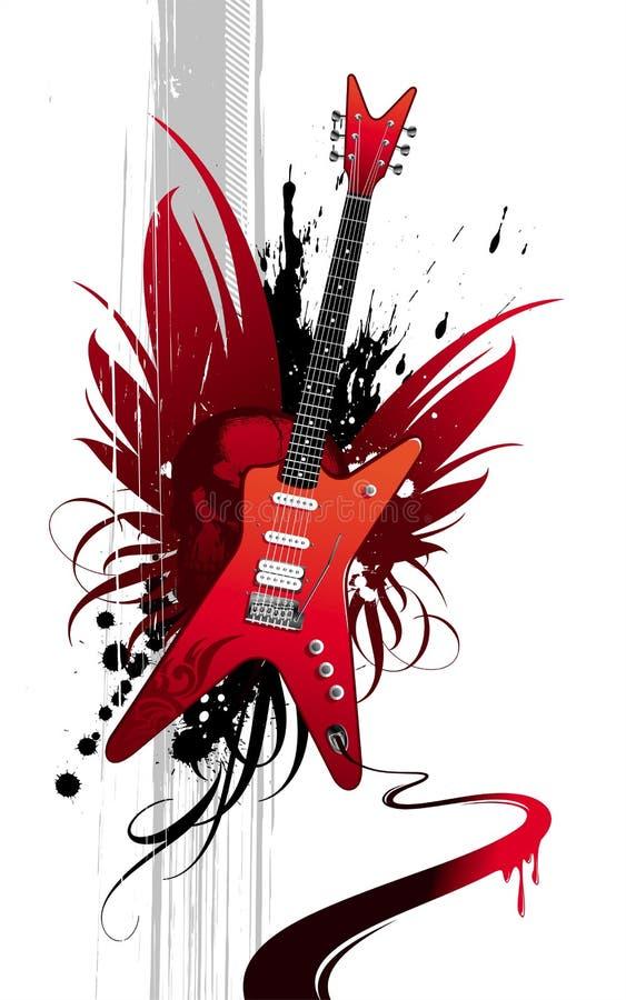 гитара тяжелая Стоковые Изображения RF