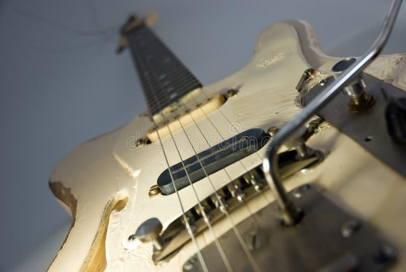 гитара тяжело - использовано стоковое изображение