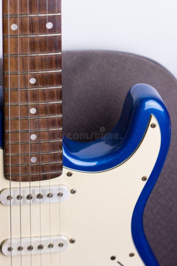 Гитара, электрические, старые черная & белый стоковое изображение rf