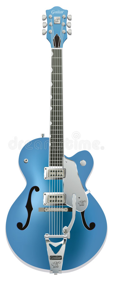 Download гитара иллюстрация вектора. иллюстрации насчитывающей металл - 483198