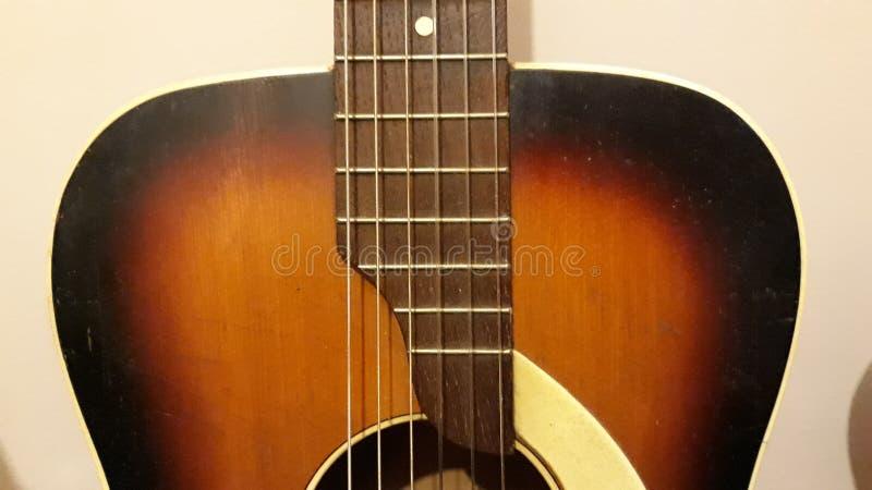 Гитара Acustic стоковое фото
