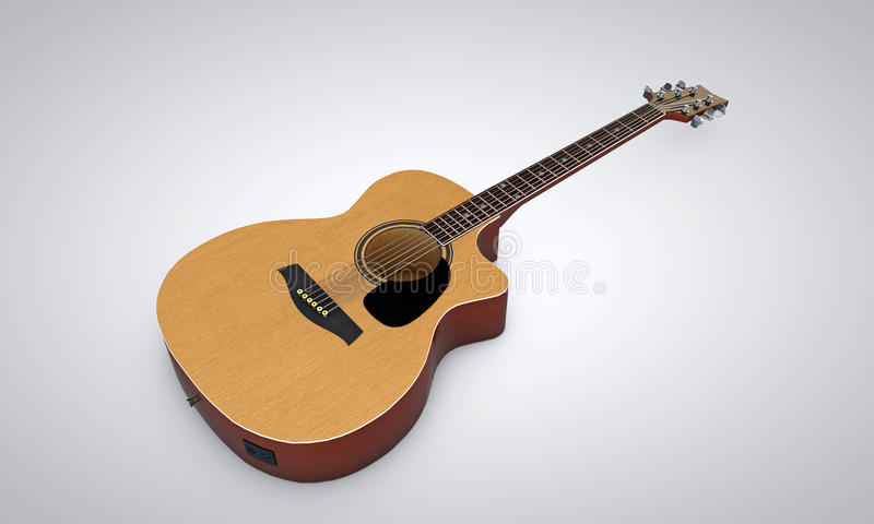 Гитара Acustic стоковое изображение rf