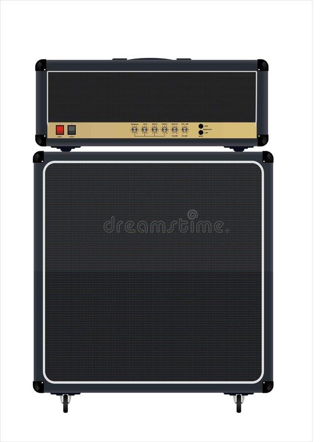 гитара amp стоковое фото