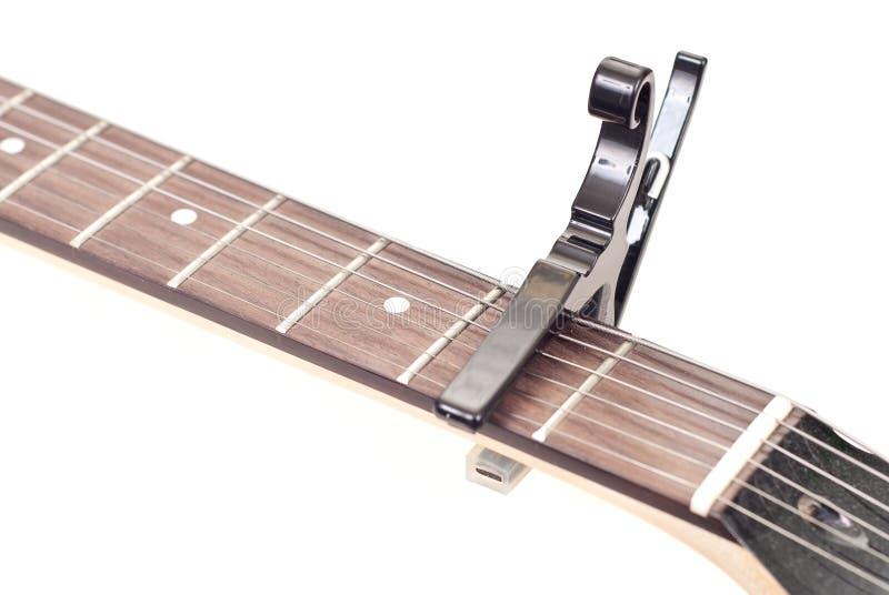 гитара capo стоковое изображение