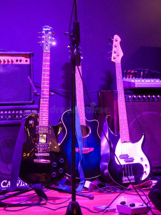 гитары 3 стоковые фото