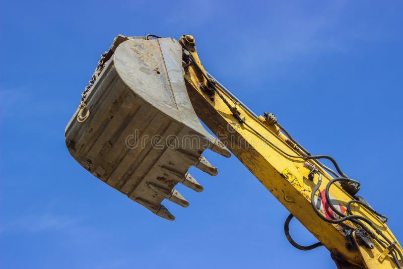 Гидравлическая рука экскаватора стоковое фото rf