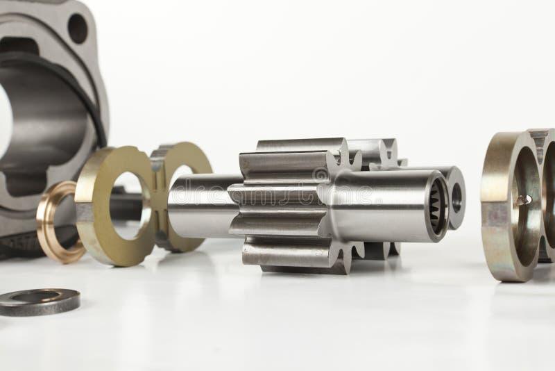 Гидравлический двигатель стоковые фото