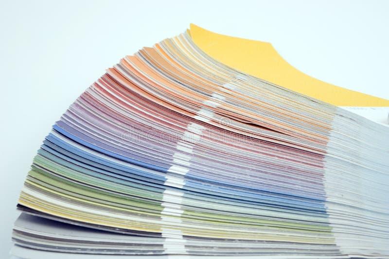 Гид цвета, палитра других цветов стоковые изображения rf