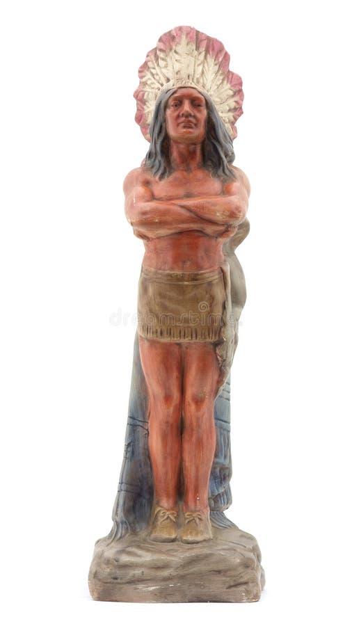 главная индийская статуя стоковое изображение
