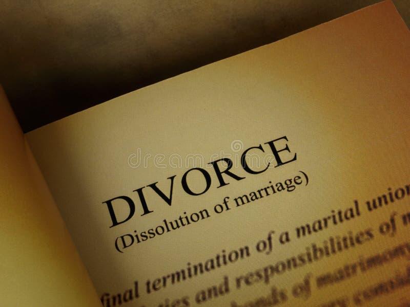 главная линия развода книги стоковая фотография rf