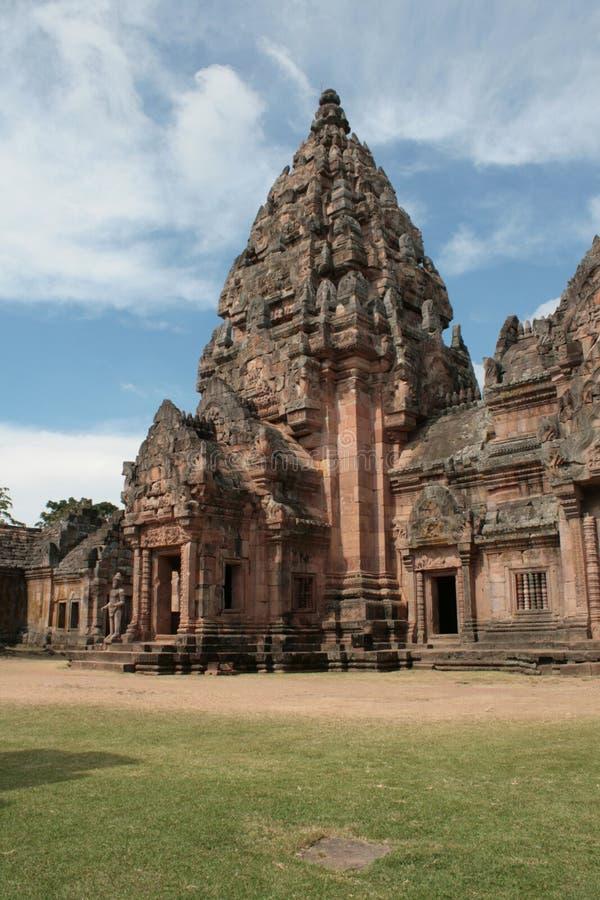 Главная пагода на Phanom звенела висок в Buriram Таиланде стоковое изображение rf