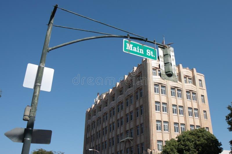 главная улица стоковые изображения rf