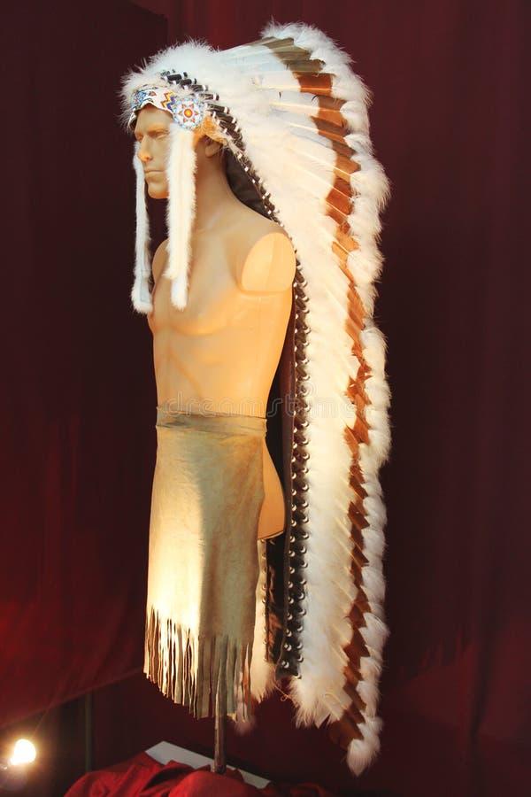 Главное украшение на манекене стоковая фотография rf
