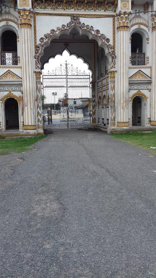 Главный вход Raj darbar стоковое фото rf