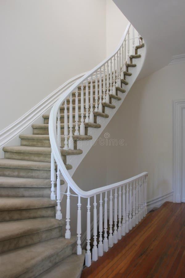 главным образом лестница стоковая фотография