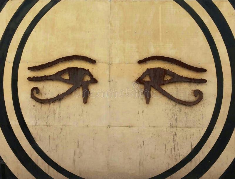 Глаза и круги стоковое изображение