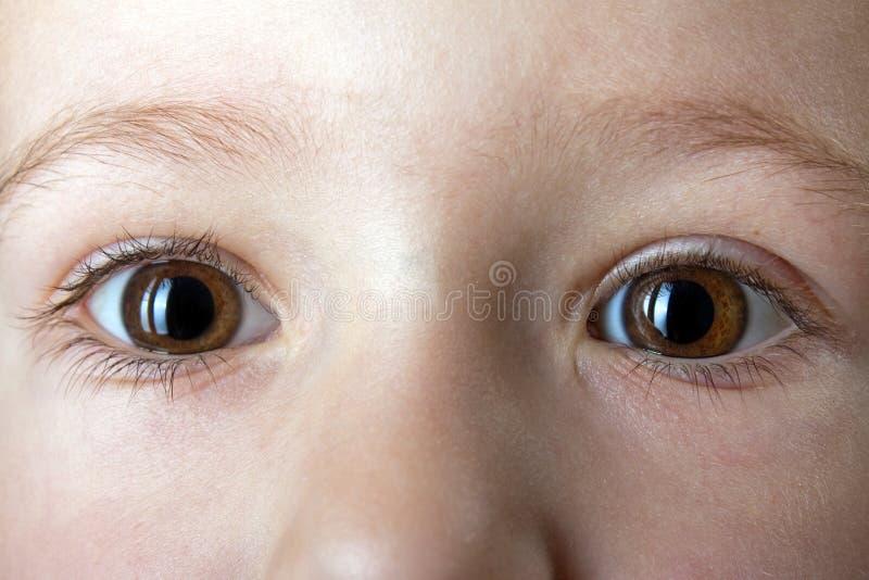 глаза ребенка стоковое изображение rf