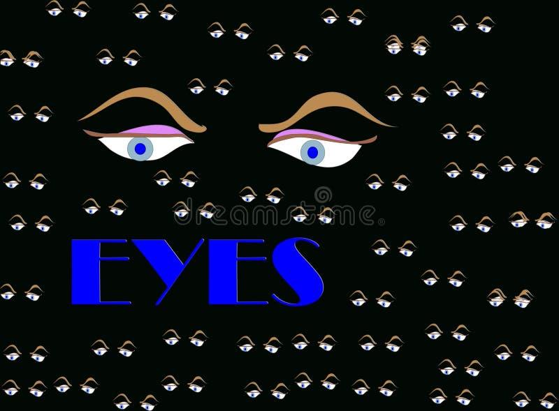глаза стоковая фотография