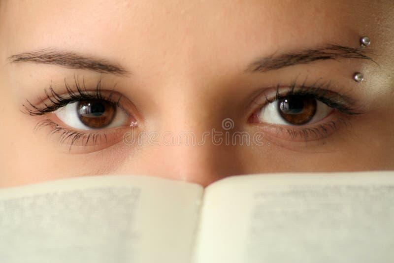 глаза стоковое изображение rf