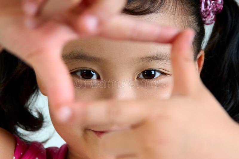 глаза c стоковое изображение