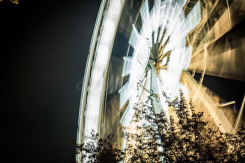 глаз Будапешта в ноче стоковая фотография rf