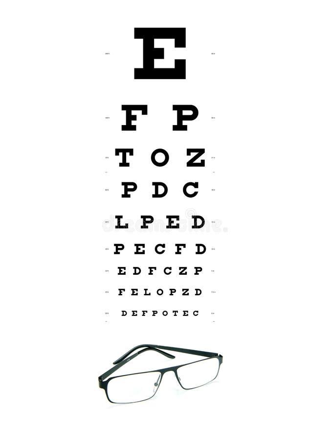 глаз диаграммы иллюстрация штока