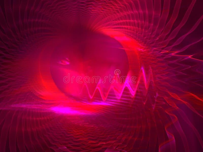глаз дьяволов иллюстрация вектора