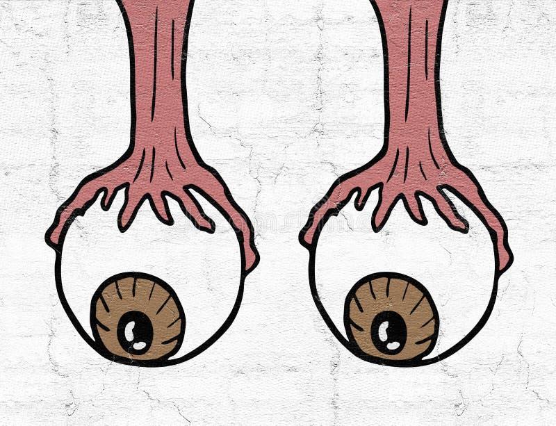 Глаз падения стоковое изображение rf