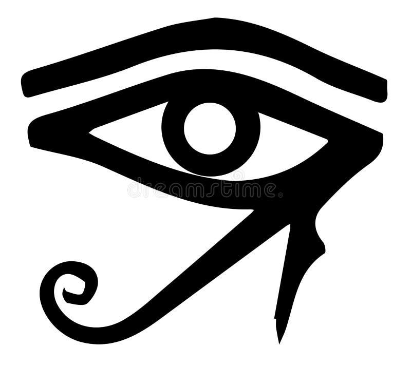 Глаз Ра иллюстрация вектора