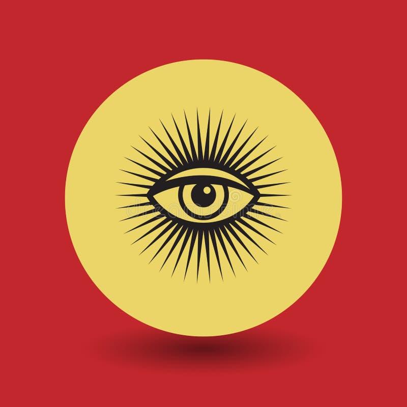 Глаз символа Провиденса бесплатная иллюстрация