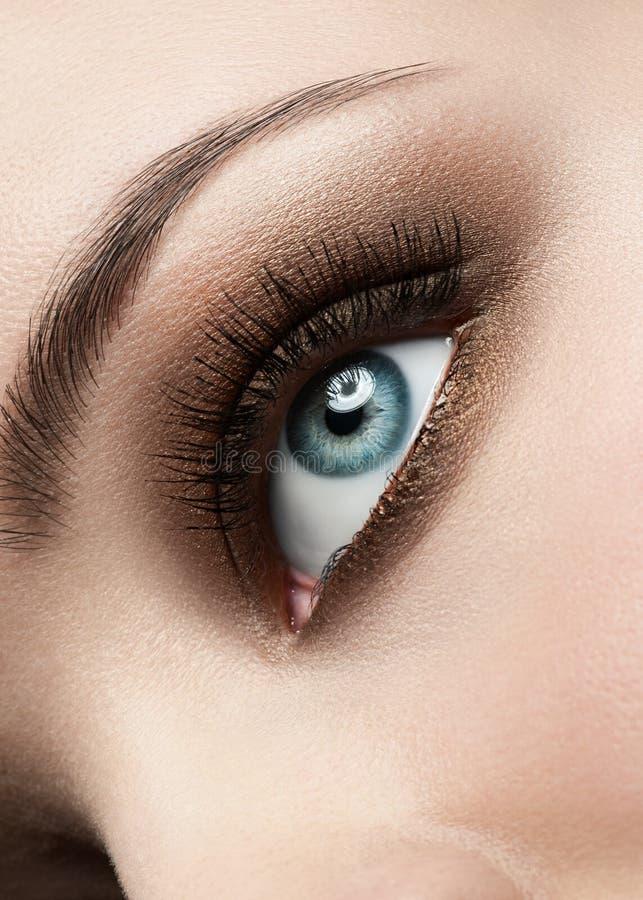 глаз составляет женщину стоковые фото