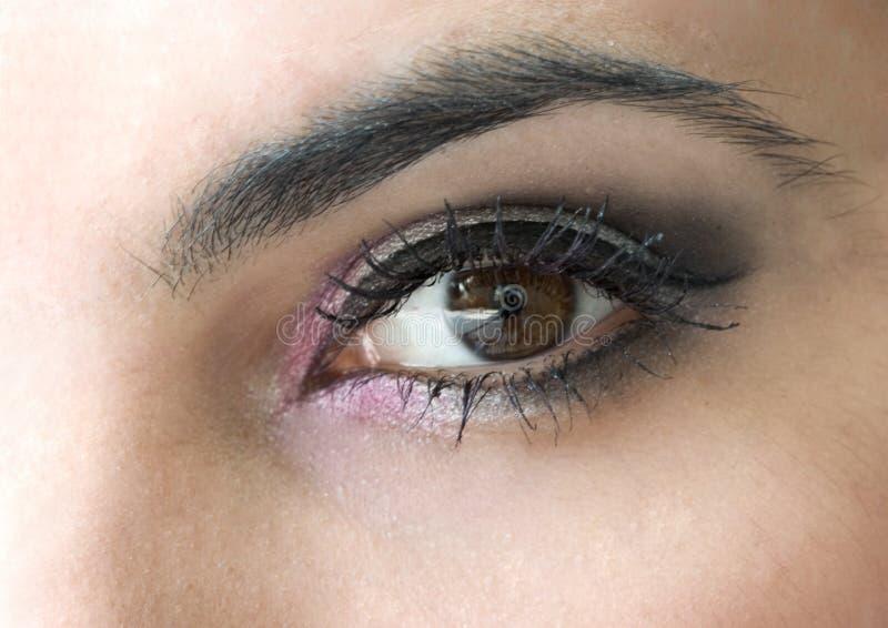 глаз составляет стоковые фотографии rf