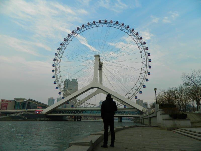 Глаз Тяньцзиня стоковая фотография