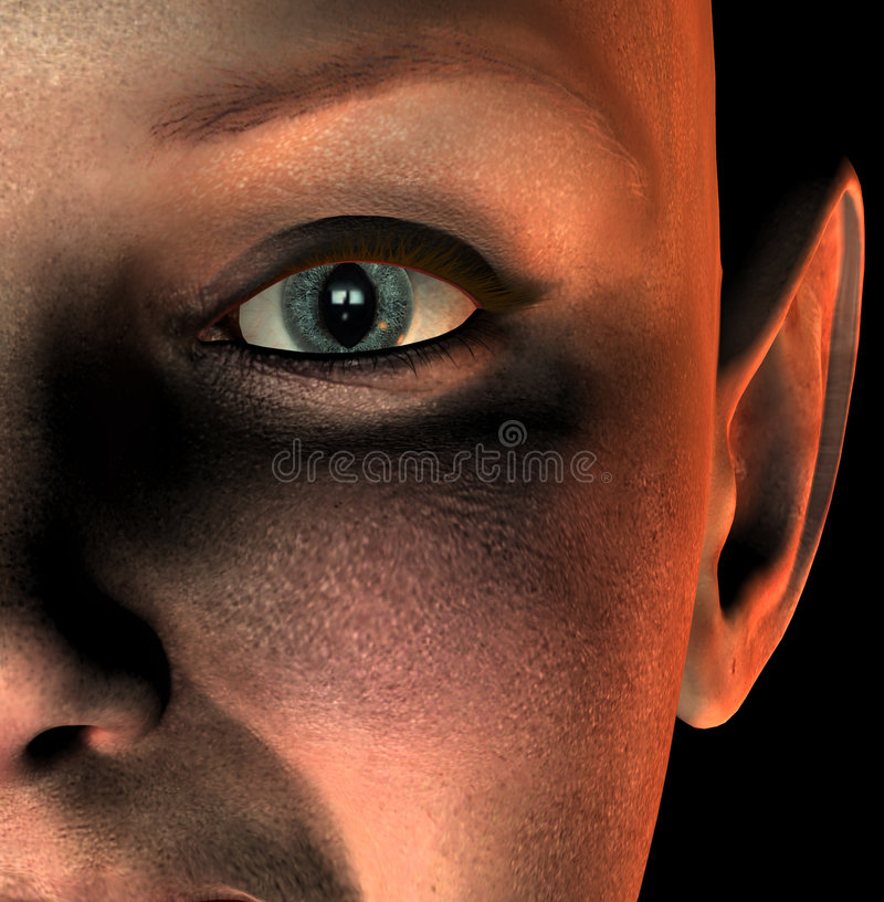 Глаз 2 Vamp Стоковая Фотография RF