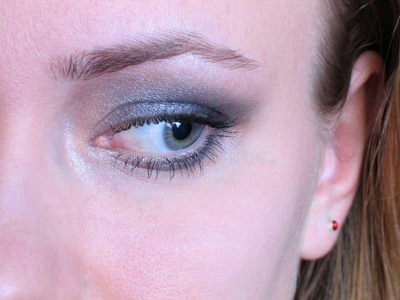 Download глаз стоковое фото. изображение насчитывающей bluets, женщина - 494446