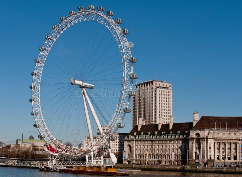 глаз london банка южный стоковое фото rf